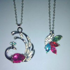 Beautiful charm necklace, pendant & chain